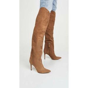 Schutz Anamaria Over-the-Knee Boot brown 9.5 NEW